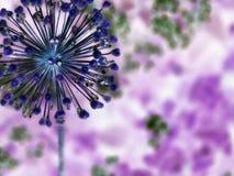 abstrakcjonistyczny kwiat Obraz Royalty Free
