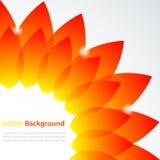 abstrakcjonistyczny kwiat Obrazy Stock