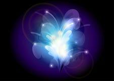 abstrakcjonistyczny kwiat Obrazy Royalty Free
