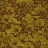 Abstrakcjonistyczny kwiat sztuki tło Fotografia Stock