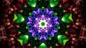 Abstrakcjonistyczny kwiatu wzór, kształt i Zdjęcie Royalty Free