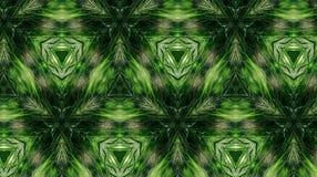Abstrakcjonistyczny kwiatu wzór, kształt i Obrazy Royalty Free