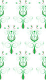 abstrakcjonistyczny kwiatu zieleni biel Fotografia Stock