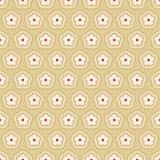 abstrakcjonistyczny kwiecisty deseniowy wektor Obraz Royalty Free