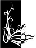 abstrakcjonistyczny kwiecisty ornament Zdjęcie Stock