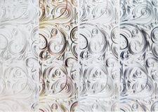 Abstrakcjonistyczny kwiecisty ornament Zdjęcie Royalty Free