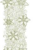 Abstrakcjonistyczny kwiecisty projekt Obraz Royalty Free