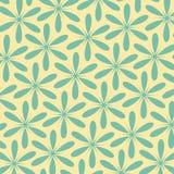 Abstrakcjonistyczny kwiecisty retro wzór Rocznika stylu kolor Może używać dla karcianego projekta, deseniowe pełnie, strony inter Fotografia Stock