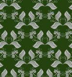 abstrakcjonistyczny kwiecisty wzór Fotografia Royalty Free