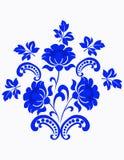 abstrakcjonistyczny kwiecisty wzór Zdjęcie Royalty Free