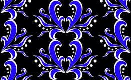 abstrakcjonistyczny kwiecisty wzór Obraz Stock