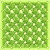 Abstrakcjonistyczny kwiecisty zieleń wzór Obraz Stock