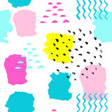 Abstrakcjonistyczny lato pattern-08 Zdjęcie Stock