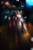 abstrakcjonistyczny lekki ruch drogowy Fotografia Royalty Free