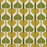 Abstrakcjonistyczny liścia wzór Zdjęcia Royalty Free