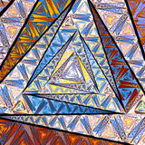 Abstrakcjonistyczny Linier Fractal Obraz Stock