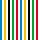 Abstrakcjonistyczny liniowy bezszwowy wzór Zdjęcie Stock