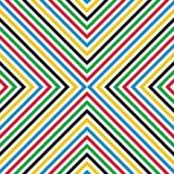Abstrakcjonistyczny liniowy bezszwowy wzór Obraz Royalty Free