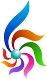 abstrakcjonistyczny logo Fotografia Royalty Free