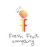 Abstrakcjonistyczny logo dla gospodarstwa rolnego lub sklepu Fotografia Stock