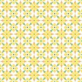 Abstrakcjonistyczny ludowy geometryczny bezszwowy wzór Fotografia Stock