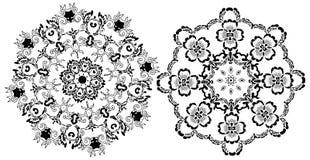 abstrakcjonistyczny mandala royalty ilustracja