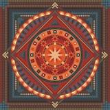 abstrakcjonistyczny mandala Obraz Royalty Free