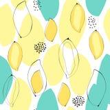 Abstrakcjonistyczny mangowy bezszwowy tło Obraz Royalty Free
