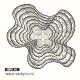Abstrakcjonistyczny materiał ablegrujący dziury tło Zdjęcie Royalty Free