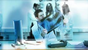 Abstrakcjonistyczny Medyczny materiału filmowego kolaż zbiory wideo