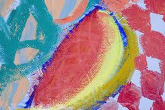 abstrakcjonistyczny melon Zdjęcie Stock