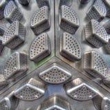 abstrakcjonistyczny metal obrazy stock