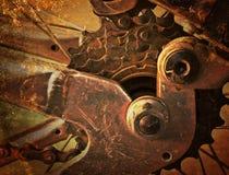 Abstrakcjonistyczny metalu tło. fotografia stock