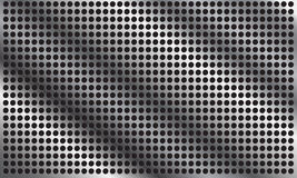 Abstrakcjonistyczny metalu tło z okręgiem patern Zdjęcia Royalty Free