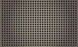 Abstrakcjonistyczny metalu tło z kwadratowy patern ilustracja wektor