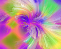 Abstrakcjonistyczny miękki koloru tło dla projekta Obraz Royalty Free