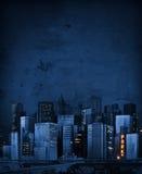 Abstrakcjonistyczny Miasto Nowy Jork zdjęcie stock