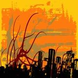 abstrakcjonistyczny miastowy Obraz Stock