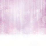 Abstrakcjonistyczny miękki purpurowy tło z rozmytymi światłami Zdjęcie Stock