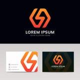 Abstrakcjonistyczny minimalistic błyskawica znaka firmy ikony loga symbol ve Obrazy Royalty Free