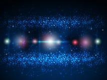 Abstrakcjonistyczny molekuły technologii tło Zdjęcia Stock