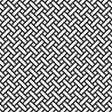 Abstrakcjonistyczny monochromatyczny łozinowy bezszwowy wzór w azjata stylu ilustracja wektor