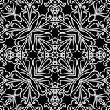 Abstrakcjonistyczny monochromu wzór Zdjęcie Stock