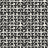 Abstrakcjonistyczny monochromu wzór trójboki Fotografia Royalty Free
