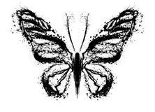 Abstrakcjonistyczny motyl Fotografia Royalty Free