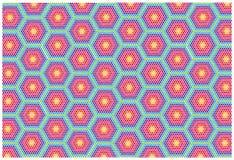 Abstrakcjonistyczny mozaiki tło Fotografia Royalty Free