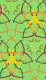 abstrakcjonistyczny muśnięcia wzoru uderzenie Obraz Royalty Free