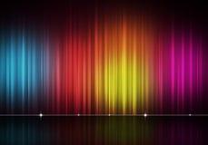 Abstrakcjonistyczny Multicolor linii tło Obraz Stock