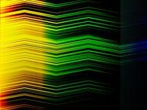 Abstrakcjonistyczny multicolor zygzakowaty paska tło Obrazy Stock