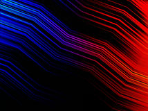 Abstrakcjonistyczny multicolors zygzag paska tło Fotografia Royalty Free